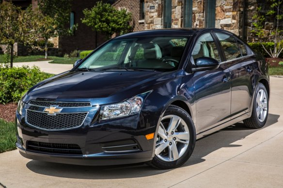 2014 Chevrolet Cruze Diesel. Funny, you don't look like a bad idea...