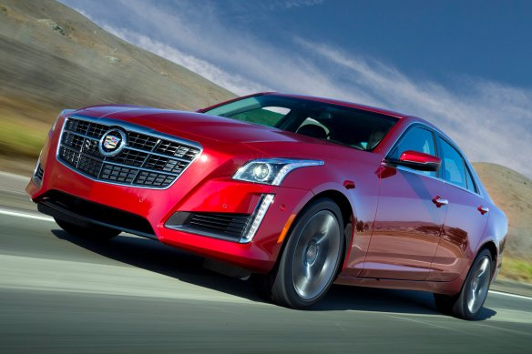 2014 Cadillac CTS VSport: Caddy outside, Apple inside